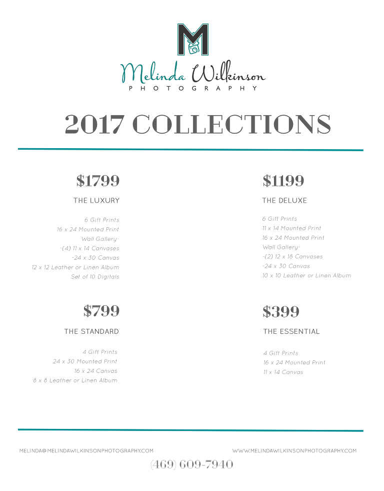 2017PricingSheetCollections