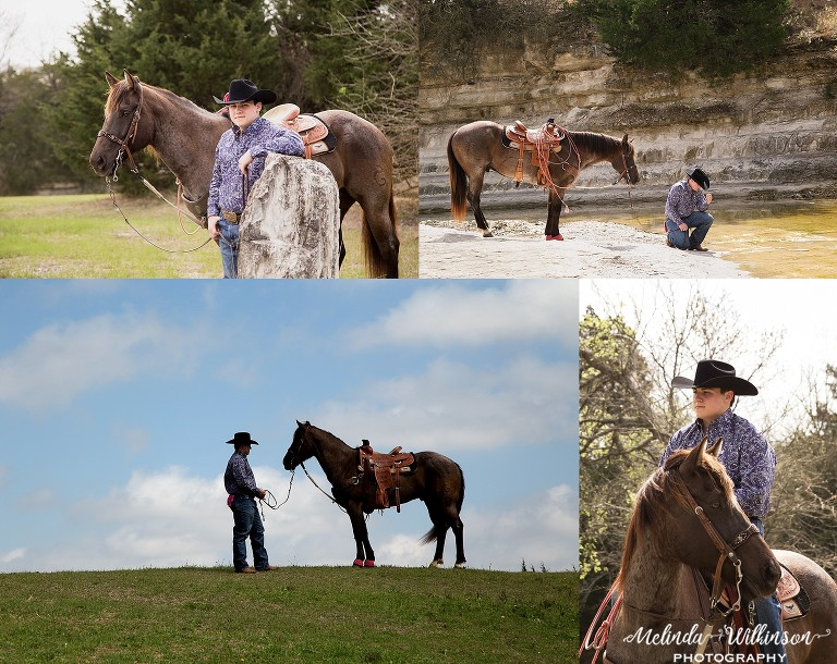 Flower Mound Senior and Horse Pictures