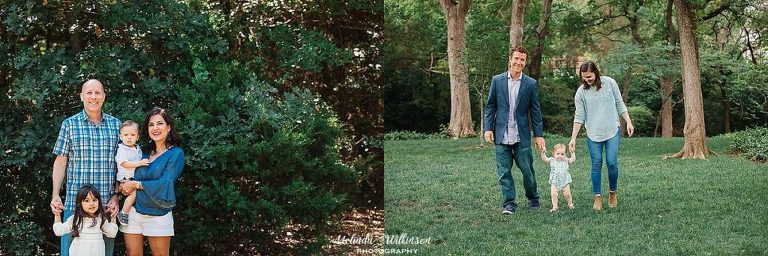 Fall family pictures outdoors